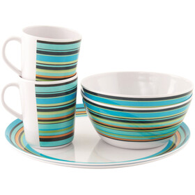 Easy Camp Java Melamine Set - 2 Persons Multicolore
